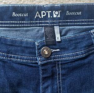 Like new Apt 9 plus size jeans
